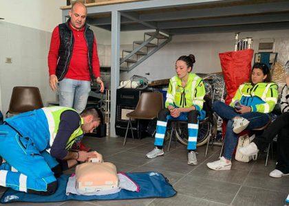 Falcone, Campus Protezione Civile e primo soccorso