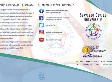 Al CESV, sportello di orientamento al Servizio Civile