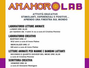 Amahoro Lab a Venetico marina