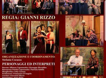 Il 19, appuntamento con la commedia siciliana al teatro Annibale