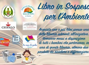 Riciclo e lettura, l'iniziativa delle librerie messinesi