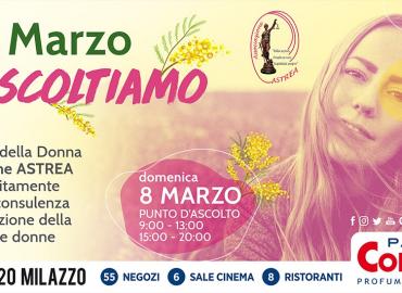 L'8 marzo a Milazzo: Informazione contro la violenza sulle donne