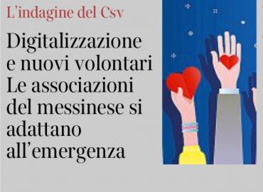 L'indagine del CESV sui bisogni del volontariato durante l'emergenza sul Corriere Buone Notizie