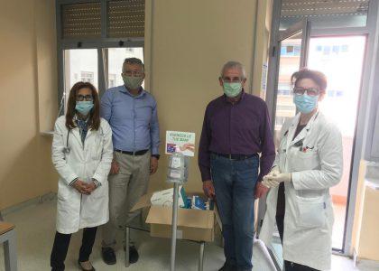 L'Associazione Siciliana Leucemia consegna DPI anticovid