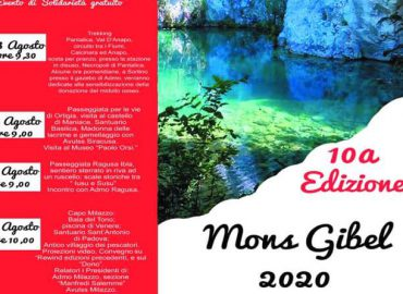 "23-26 agosto, Mons Gibel 2020 ""Memorial Manfredi Salemme"""