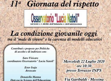 """22 luglio a Messina la """"Giornata del Rispetto"""""""