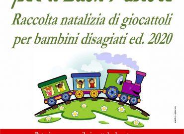 Un trenino per il Buon Pastore, raccolta natalizia di giocattoli