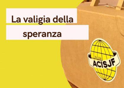 """Oggi la consegna della """"Valigia della Speranza"""" di Acisjf Terra Solidale di Messina"""