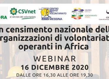Un censimento delle associazioni di volontariato impegnate in Africa