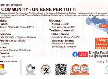 7 maggio ore 17:30, Presentazione City's Community: un bene per tutti
