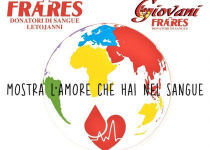 Gruppo Fratres Letojanni: contest creativo per la Giornata del donatore