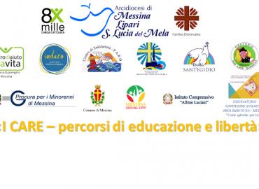 Caritas di Messina Lipari S. Lucia del Mela – I CARE – percorsi di educazione e libertà